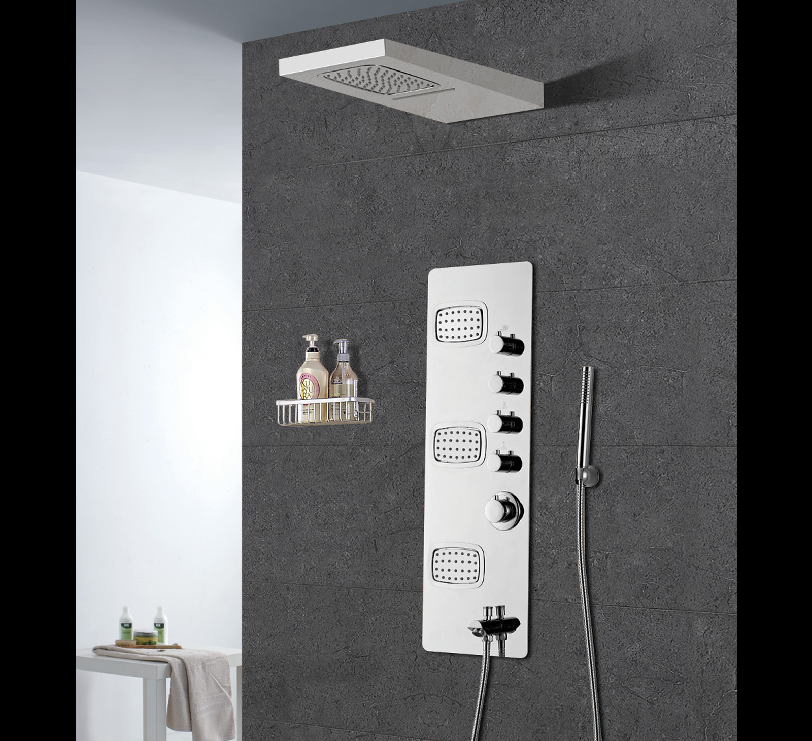 Studio-Concept Wall Shower
